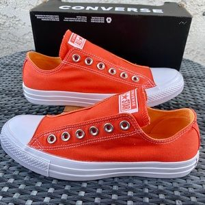 Converse Chuck Taylor Orange Slip-on Sneaker